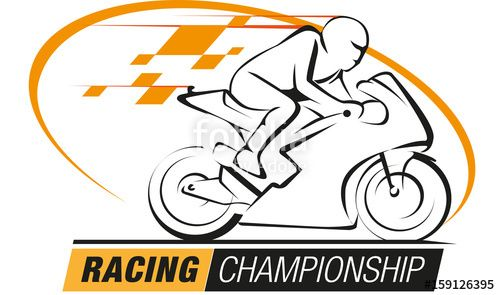 Vector: Vector abstract, Racing championship logo