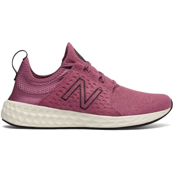 New Balance Fresh Foam Cruz Retro Hoodie Women's Neutral Cushioned... ($80) ❤ liked on Polyvore featuring shoes, athletic shoes, retro shoes, slip on shoes, pull on shoes, cushioned shoes and new balance