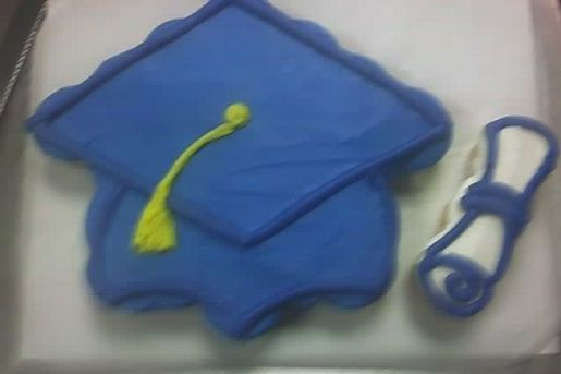 How To Decorate A Graduation Cake