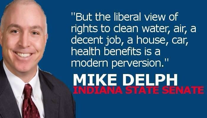 Here is a helpful hint.  If you're tempted to vote for this guy again....please don't!  Let's make Indiana an intelligent and welcoming place where we can all be proud to call home!