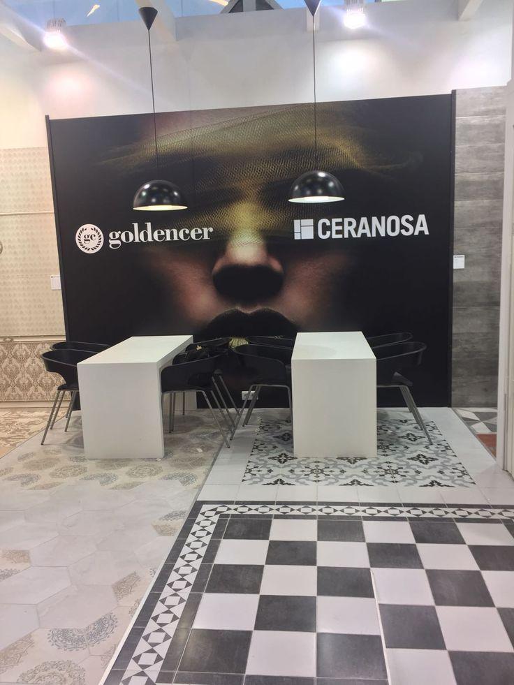 Stand Ceranosa #cersaie2016 