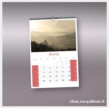 Calendario da parete formato A3 http://shop.easyalbum.it/calendari-personalizzati