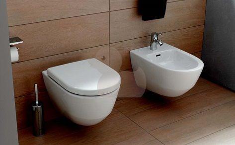 Závěsné WC Laufen Laufen Pro, zadní odpad, 53cm