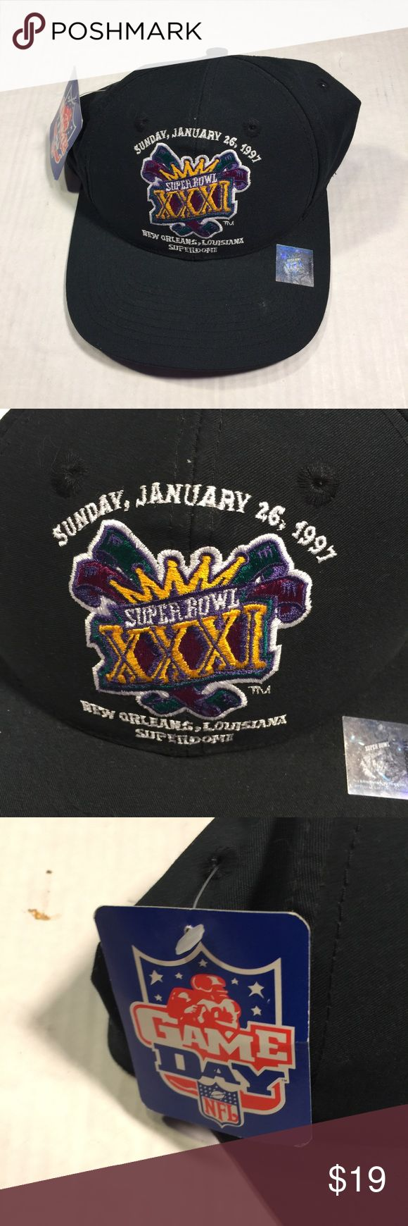 Vintage super bowl XXXI snap back logo 7! Brand new with tags logo 7 super bowl snap  Fast shipping  Best prices on poshmark  Check out my other items everything is listed $19 logo 7 Accessories Hats
