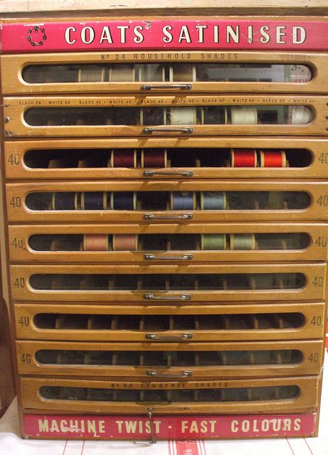 Vintage store dislay case