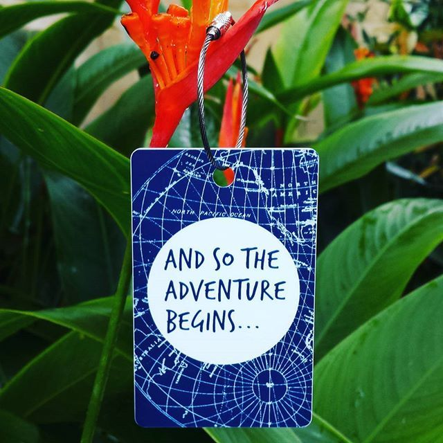 Where will your next adventure be? Personalised bag tags designed and printed in Melbourne, shipped worldwide. www.justbagtags.com.au