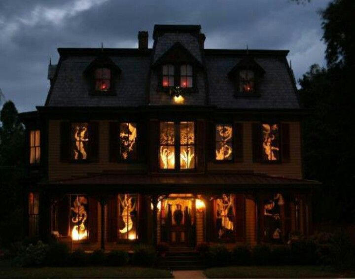 need some new window ideas 25 ideas to decorate windows with silhouettes on halloween