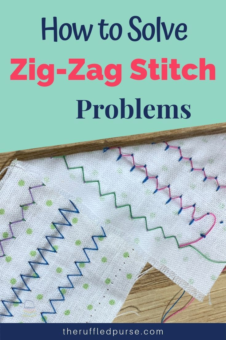 The Zig Zag Stitch Is A Fun Stitch It S A Great Stitch To Use For Top Stitching Embellishment And To Strengthen Seams Sometimes Though Zig Zag Zig Stitch