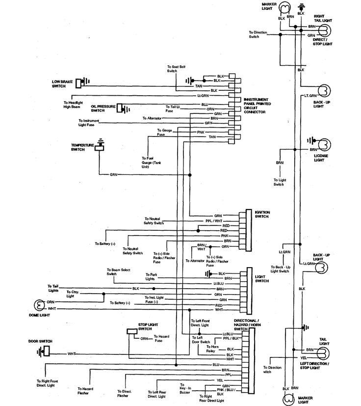 1973 chevrolet el camino wiring diagram part 1 ...