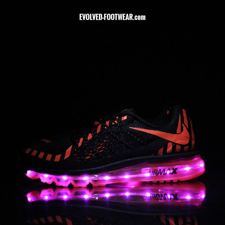 nike air max with led lights