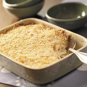 Baked Creamed Onions Recipe -I often fix this comforting dish for my grown children when they visit. They love it when I double the recipe so they can take leftovers home! This recipe can be prepared a day ahead and refrigerated before baking.