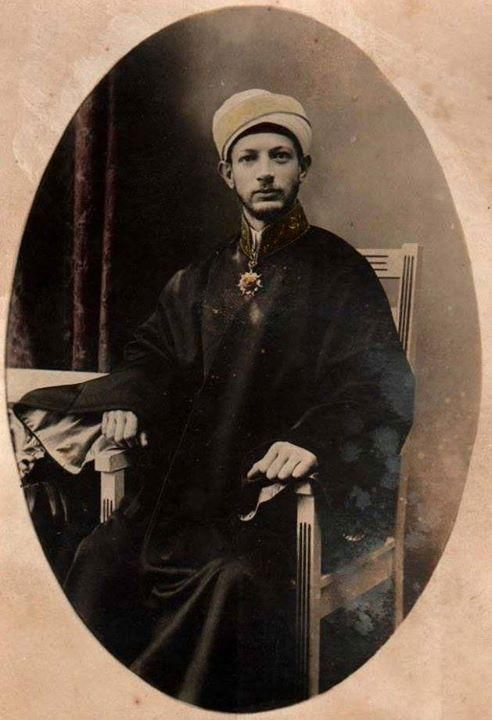 An Ottoman Judge.  Late 19th century.
