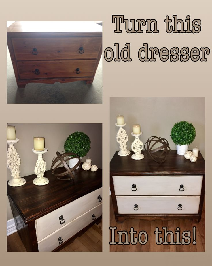 Refinished Dresser - for sale $110.00  Chalk paint finished with dark walnut stain  Like my page on FB Just A Bit Of Home   https://m.facebook.com/Terrasplace/?tsid=0.931984174186741&source=typeahead  www.justabitofhome.com