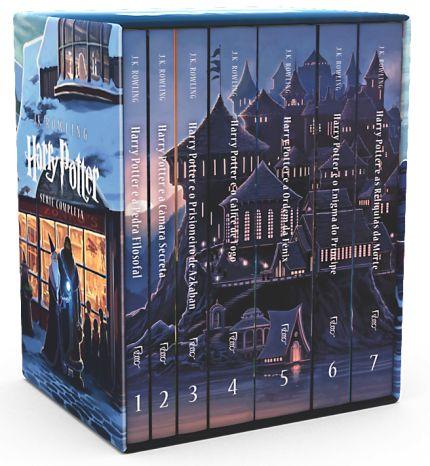 Maior fenômeno editorial de todos os tempos, com mais de 450 milhões de exemplares vendidos em 70 idiomas, a série Harry Potter chega às prateleiras em mais essa edição de colecionador. Os sete livros