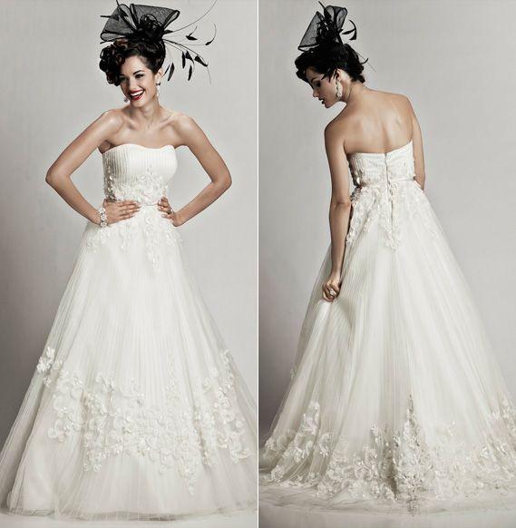 Matthew Christopher Wedding Gowns Lookbook
