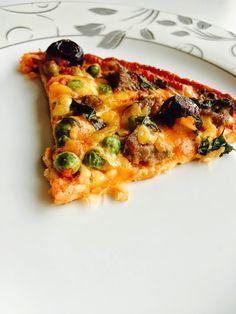Bade'nin Şekeri: Unsuz Sağlıklı Pizza / Flourless Healthy Pizza
