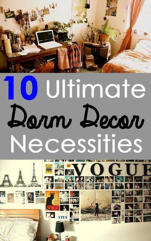 10 Ultimate Dorm Decor Necessities