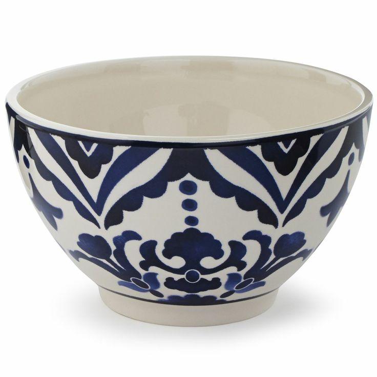 727 best servies blauw wit images on pinterest porcelain for Sur la table mixing bowls