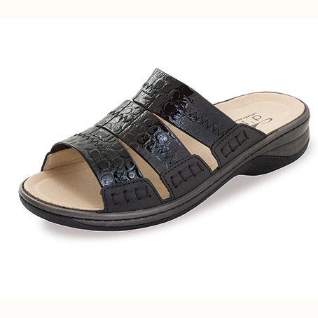 Sandalias Elásticas Gela Negro