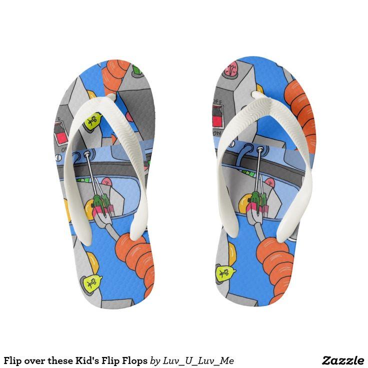 Flip over these Kid's Flip Flops Thongs