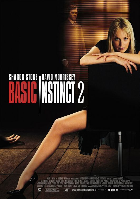 Temel Icgudu 2 - Basic Instinct 2 - 2006 - DVDRip Film Afis Movie Poster