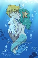 Mermaid Kiss by HazuraSinner