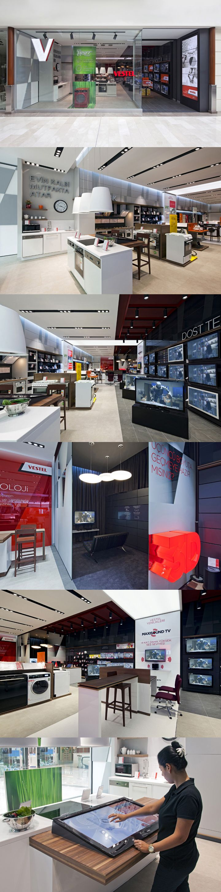 Store by riis retail aarhus denmark 187 retail design blog - Vestel Appliances Store