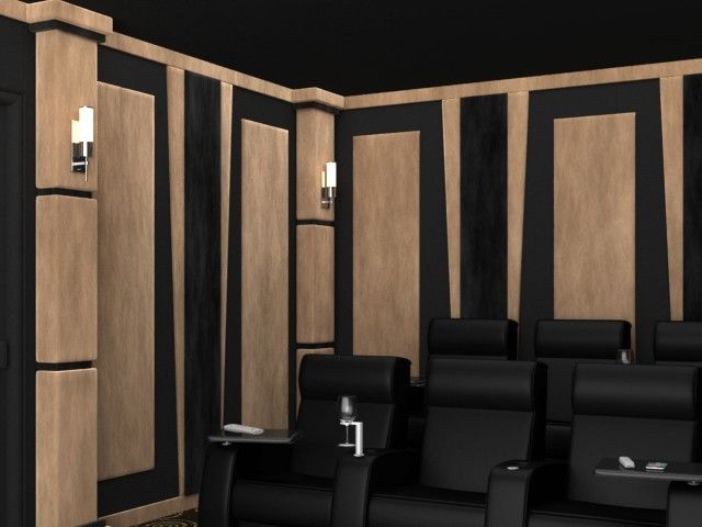 11 best theater room images on Pinterest Theatre rooms Home