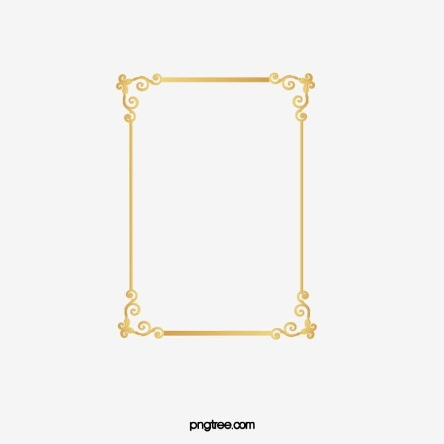 Golden Text Rectangle Clipart Golden Frame Png Transparent Clipart Image And Psd File For Free Download Clip Art Text Frame Geometric Background