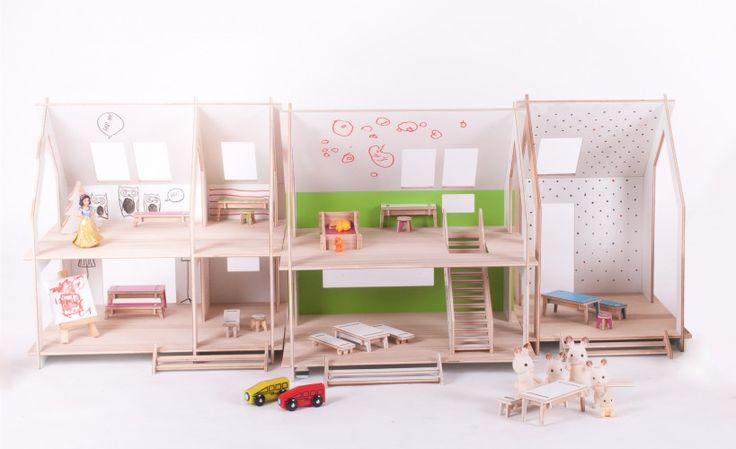 razem jest więcej | TAMIDO - domek dla lalek | modern dollhouse