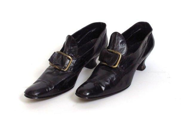 jalkineet; avokkaat; naisten kengät, 1890-1910   Satakunnan Museo   Museo Finna
