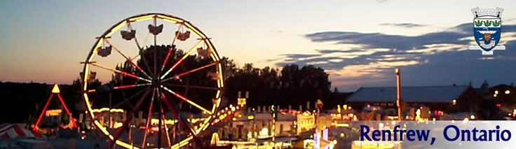 The Renfrew Fair is after the long weekend in September!
