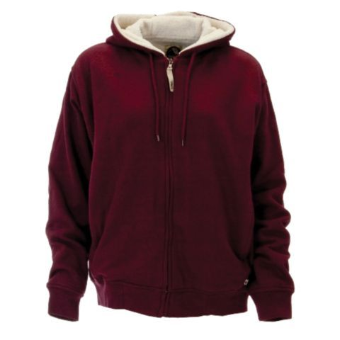 Berne 174 Ladies Insulated Sherpa Lined Zip Front Hooded