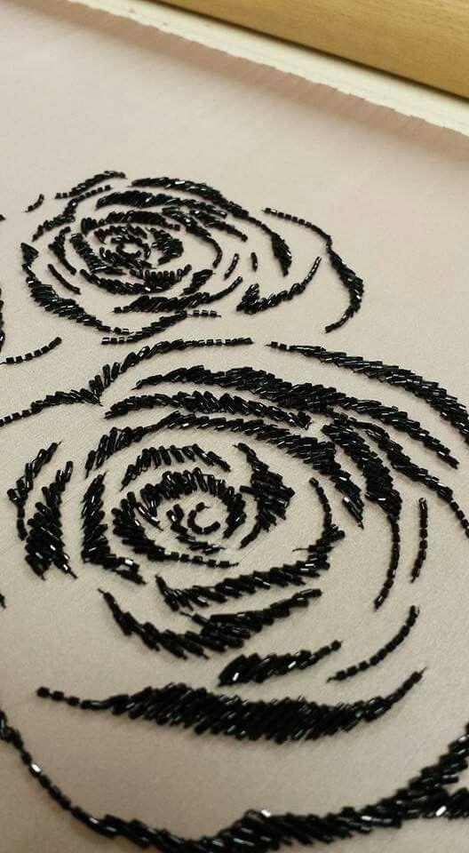 Rose black crystal …