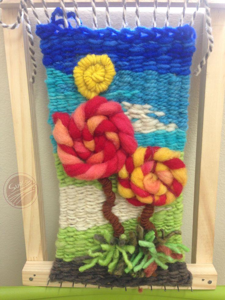 Telar decorativo ideal para el cuarto de los niños