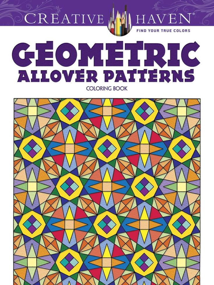 Creative Haven Geometric Allover Patterns Coloring Book By Ian O Angell Available At Depository With Free Delivery Worldwide