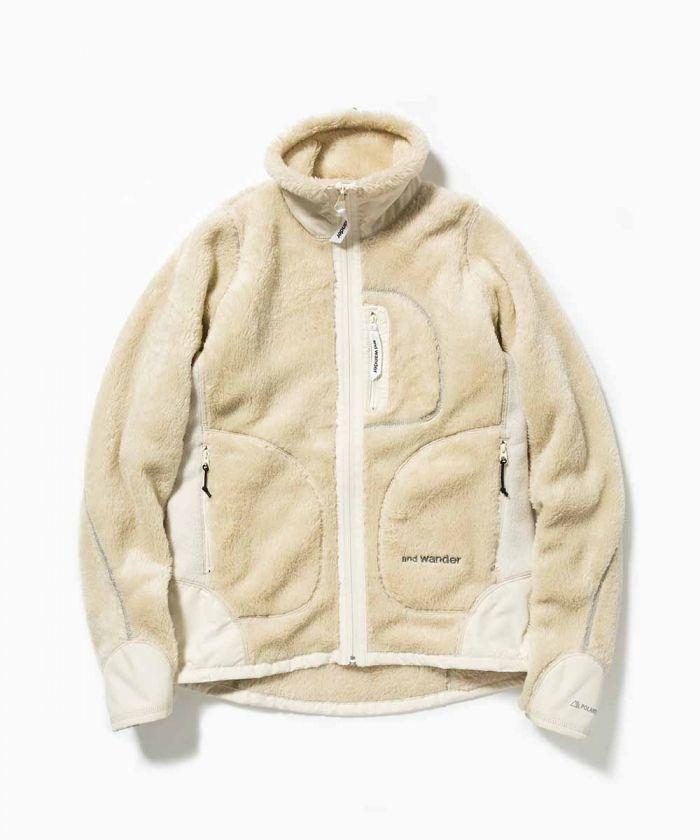 high loft fleece jacket - and wander online shop