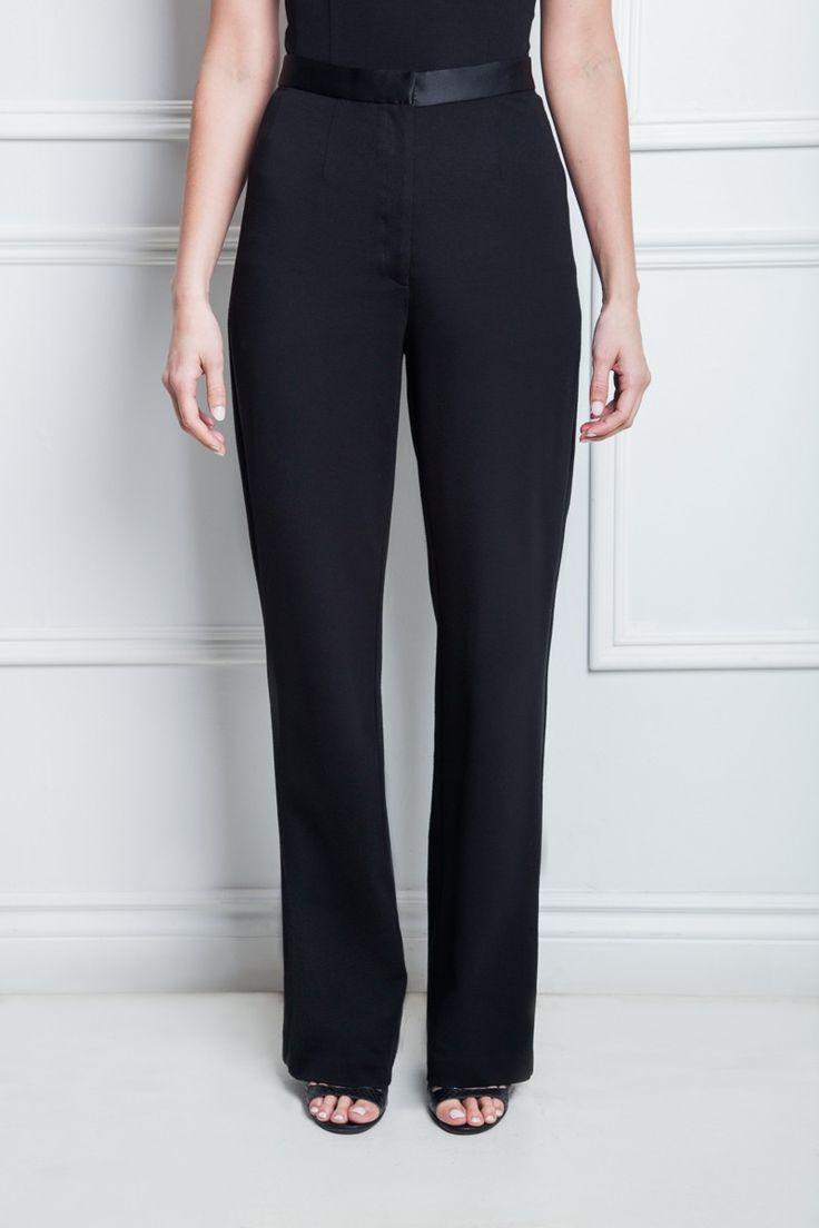 Les poupounes de luxe - Pantalon Tuxedo disponible en taille 00 et 0 - prix régulier 165,00$