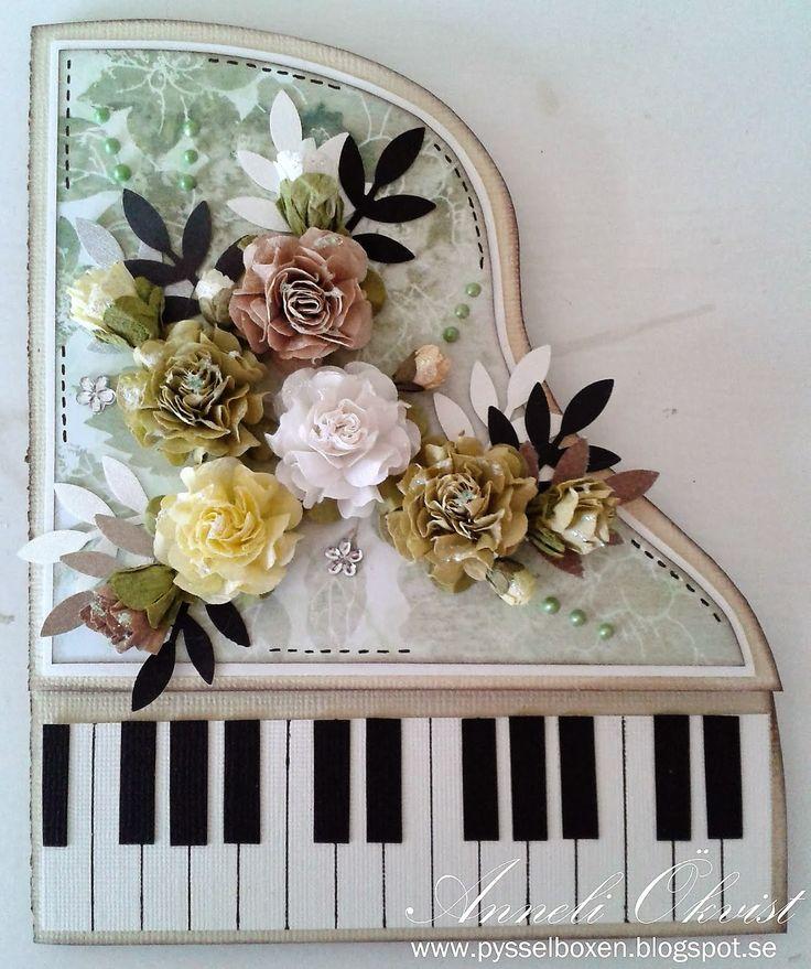 Свою жену, пианино открытка