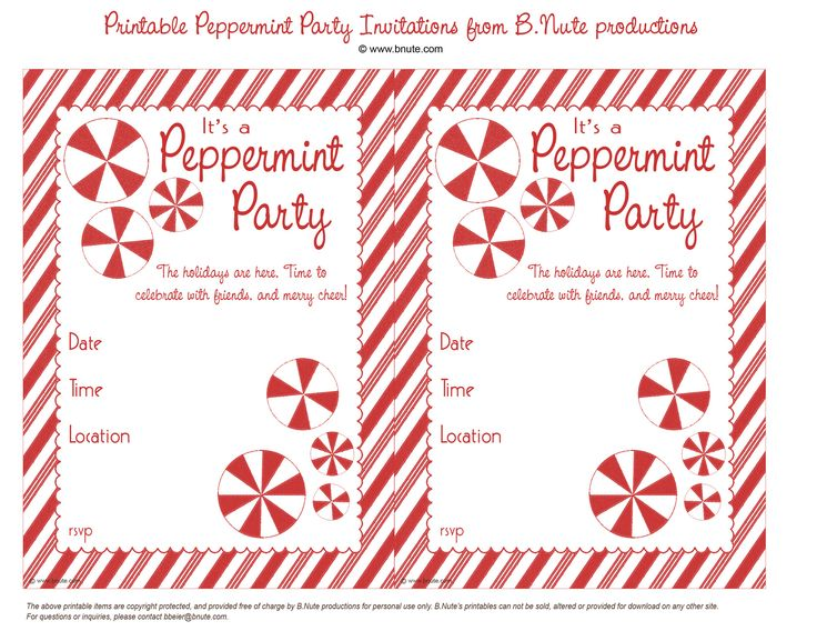 Downloadable Christmas Party Invitations Templates Free Amazing 94 Best Acraftychristmas Images On Pinterest  Christmas Ideas .