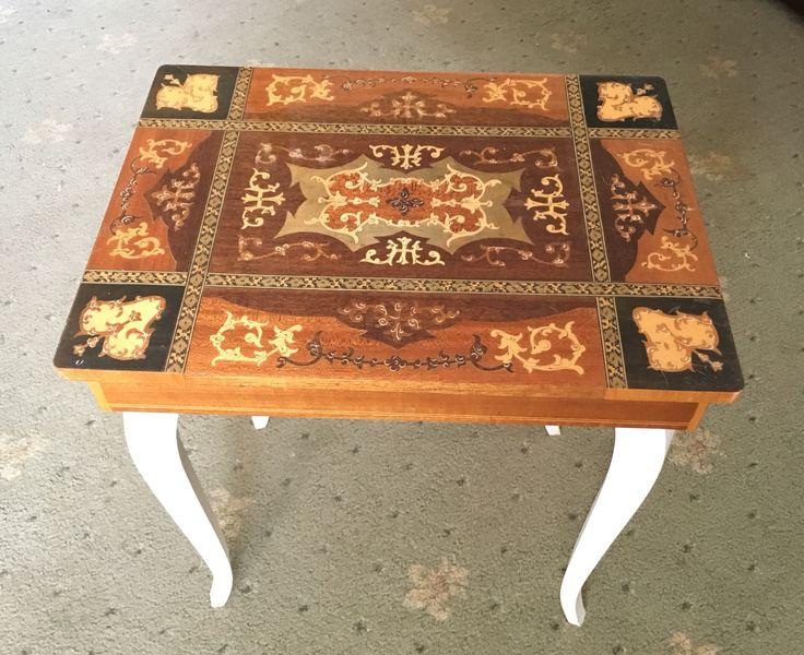 Musical sewing box