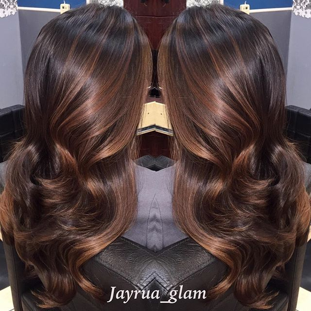 fall hair colors chestnut partial ombre balayage thank you so much for all of your likes and. Black Bedroom Furniture Sets. Home Design Ideas