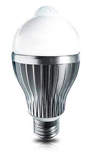http://ift.tt/1Oq6Nc5 Led4U LED8090IR-WW LED Birne Lampe mit Bewegungsmelder PIR Sensor E27 8W 800Lm warm @Shippingkiul@#