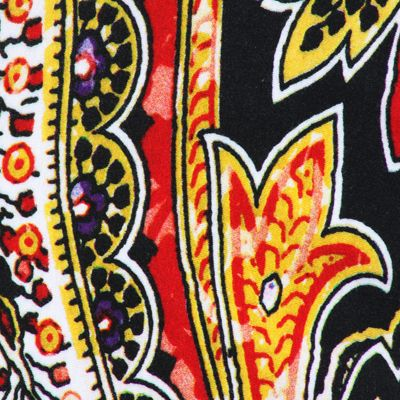 This colorful paisley print on a black ground is one of many beautiful prints that you will find in the Fall 2013 Cartise collection! #paisley #cartise #print #coloryourlife #Cartise