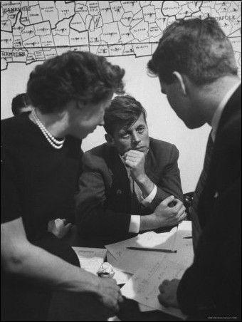 Yale Joel - John F. Kennedy on Election Night                                                                                                                                                                                 Plus