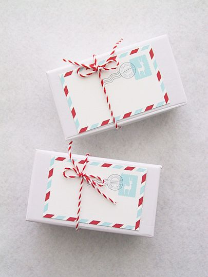 Free printable Christmas gift tags #free #crafts #paper :)