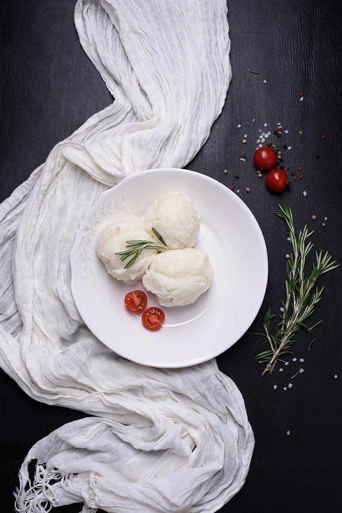 Mashed potatoes with rosemary by Iuliia Leonova on @creativemarket