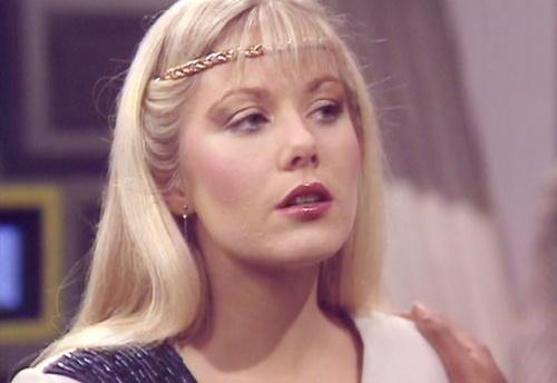 Glynis Barber as Soolin in Blake's 7.