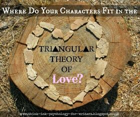 Psychology and Storycraft: Where Do Your Characters Fit in the Triangular Theory of Love?