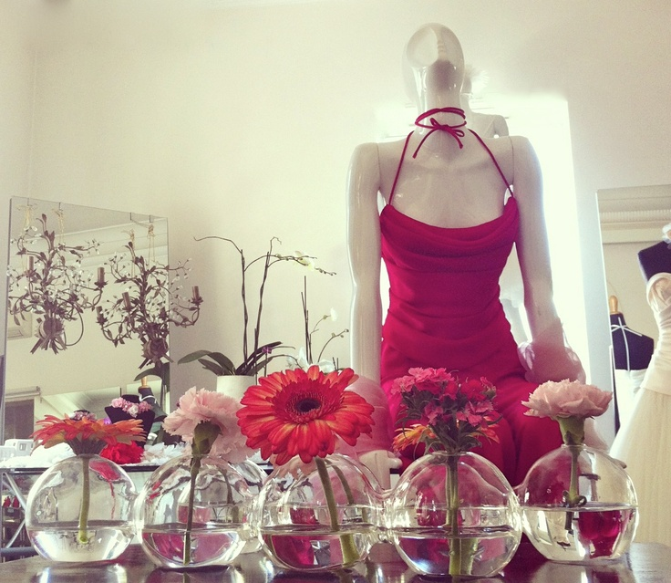 Spring colors and perfumes
